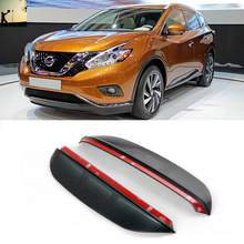 Buy FOR Nissan Murano Z52 2015 now rearview mirror rain eyebrow Rainproof Flexible Blade Protector Car Styling for $10.00 in AliExpress store