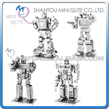 Mini Qute Piece Fun 3D movie collection cars change robot super hero Metal Puzzle adult assemble DIY models educational toy - Drop/ Retails & s Toy store