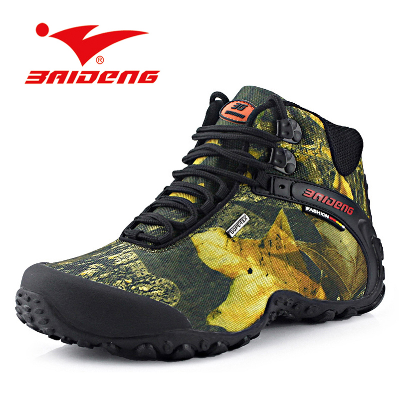 2016 fashion outdoor climbing hiking boots waterproof men boot new style outdoor fun mountain trekking shoes hunting boots(China (Mainland))