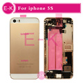 Gold Silver Gray Rose Gold New Complete For iphone 5S Full Middle Frame Housing Cover Assembly