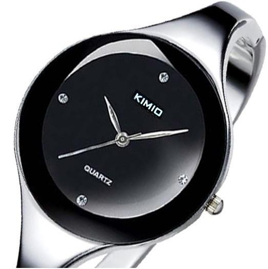 Band KIMIO Women Stainless Steel Strap Watch Women Dress Watches Fashion Ladies Diamond Elegant quartz bracelet Wristwatches(China (Mainland))