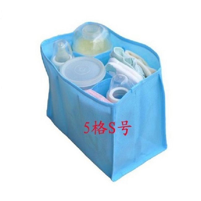 1pc/lot Blue Travel Bag Large Storage Boxes & Bins Organizer Liner bags Baby Diaper Nappy Mommy Bags 640330(China (Mainland))