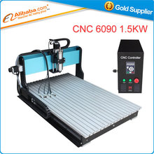 Free shipping CNC 6090 Z-1.5KW high speed engraver router milling cutter +4pcs cnc frame ,Limit switch for each X,Y,Z axis(China (Mainland))