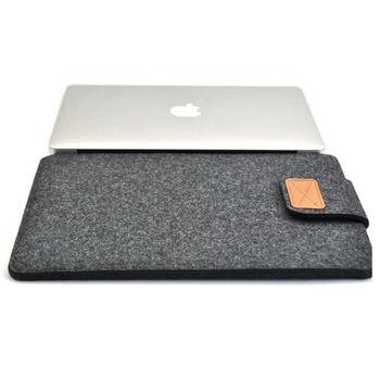 """Темно-серый цвет новый шерстяные чувствовал ноутбука сумка крышка чехол для ноутбука / Samsung / Sony / HP / Macbook Pro / Dell 11 """" 13 """" 15 """""""