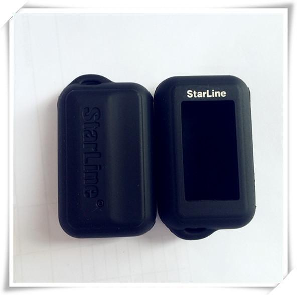 2015 NEW candy color high quality Starline E90/E62/E60 silicone case for russian version lcd two way car alarm Starline E90(China (Mainland))