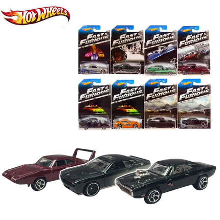 1pcs-6pcs Hot Wheels Y2126 Fast & Furious car kid toys Plastic metal miniatures cars classic collectible toy ca boys toys kids(China (Mainland))