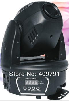 Free Shipping Lowest Price 60W LED Moving Head Light with 3-facet rotating prism/focusing/Stage Light Moving Head Light/