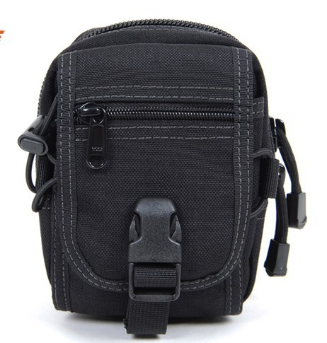 Army Tactical Waist Pack Multifunctional Casual Outdoor Sports Bags Plug-in molle accessory bag 1000D nylon fabric - RAINBOW OUTDOOR store