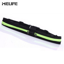 MELIFE Waterproof Gym Running pocket Sport waist jogging belt bag Outdoor Waist pack Women Fitness Belt Belly For Mobile phone(China)