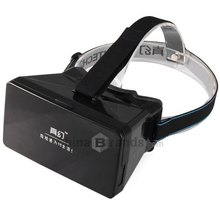 """Virtual Reality VR 3D Polarized Glasses Movies Games Google Cardboard nfc With Resin Lens For 3.5 to 5"""" Smartphone Mobile Phone(China (Mainland))"""