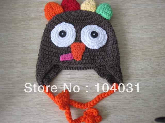Knitted Animal Hats For Babies images