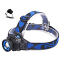Cree Q5 LED Frontal Led Headlamp Headlight Flashlight Rechargeable Linternas Lampe Torch Head lamp Build In