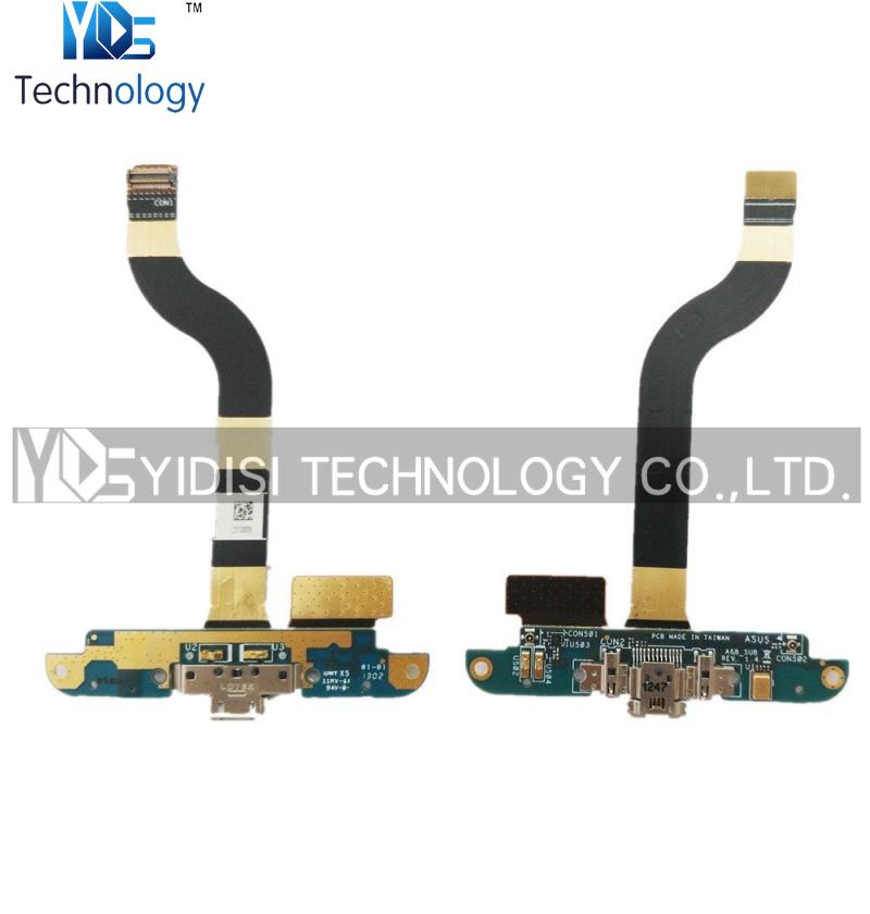 Здесь можно купить  1PCS Original Charger Charging Port USB Dock Connector Microphone Flex Cable Ribbon For ASUS PadFone 2 A68 Repair Parts  Телефоны и Телекоммуникации