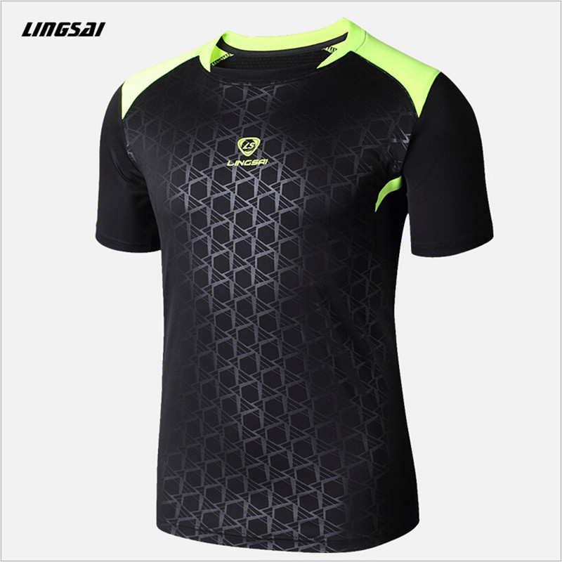 LS Brands men Tennis shirt Outdoor sports O-neck Quick Dry Breathable Running badminton men's Short-sleeve t-shirt tops tees(China (Mainland))