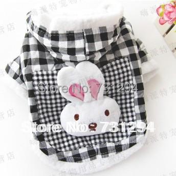 pet jacket pet clothes dog clothes dog coat pet products New fashion dog clothes Pet bunny hooded Coat.(China (Mainland))