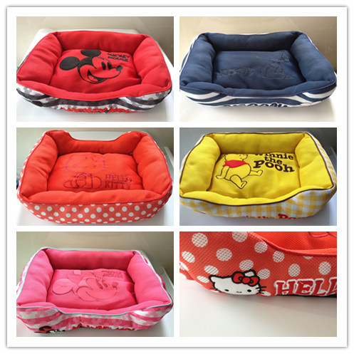 Free shipping new style pet dog cat bed breathable air-fresh kennel house mat(China (Mainland))