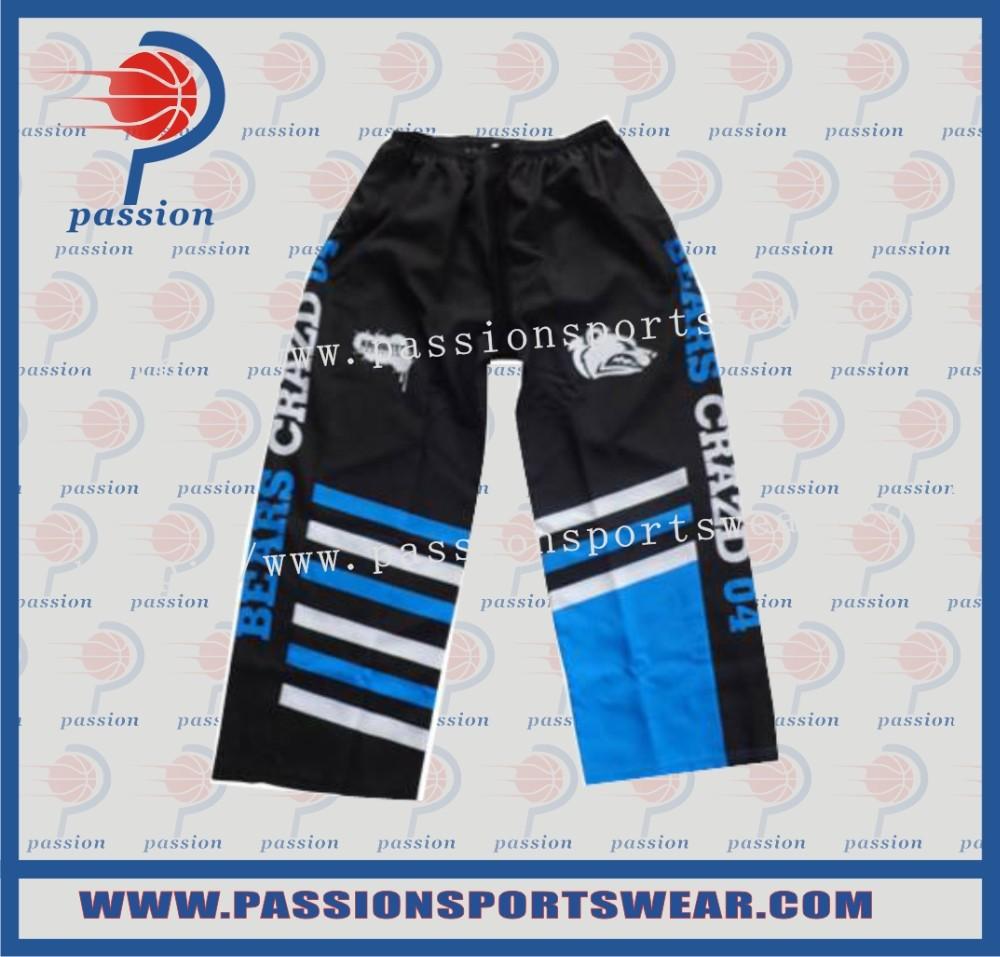 Sublimated Mens Ice Hockey shell Pants(China (Mainland))