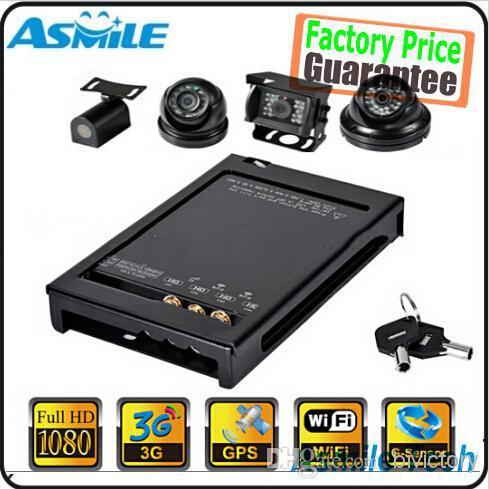 High Definition 1080p Security Bus car Camera 3G mobile dvr 4CH WIFI G-Sensor GPS 3G + 4 HD extension cord + 4 1080p HD camera<br><br>Aliexpress
