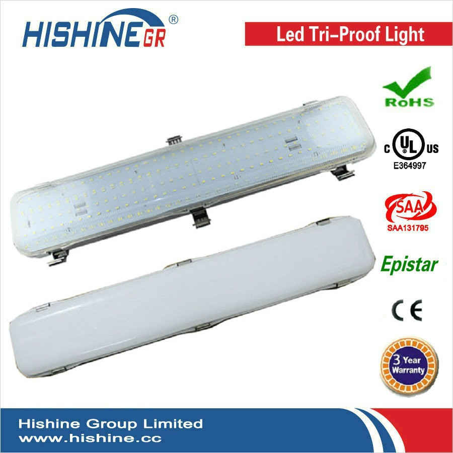 Corrosion-proof,water-proof and dust-proof 50w led batten light,european style lamps AC100-240v,CE&ROHS(China (Mainland))