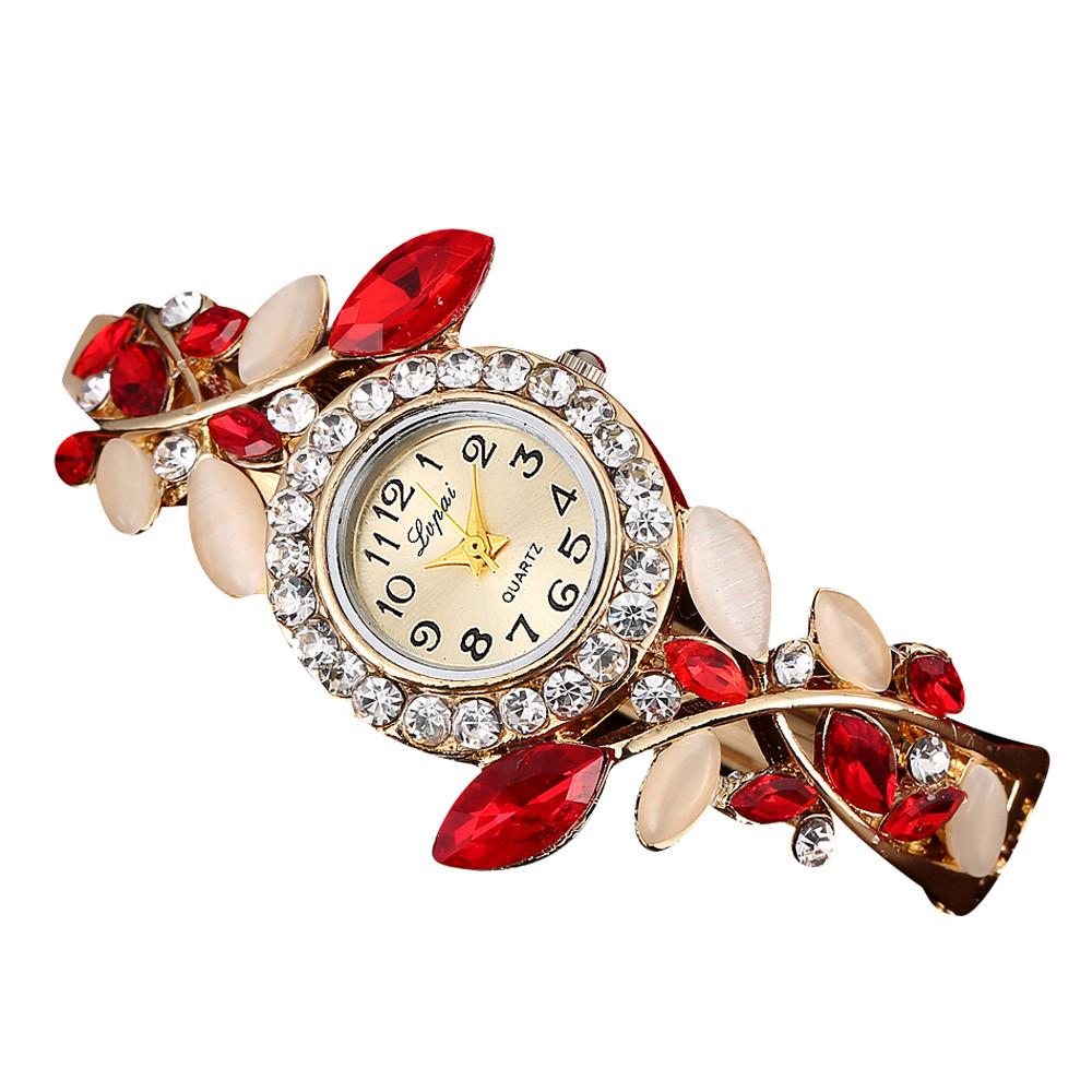 Lvpai Luxury Bracelet Watch Women Fashion Diamond Quartz Clock Watches  Womens Brand Design Wrist Watch Hot Sale Relogio Reloj #j