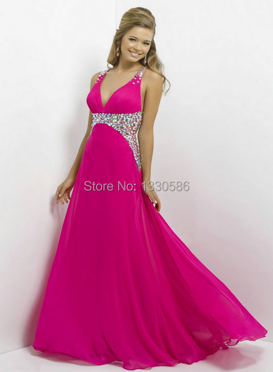 High Quality Hot Pink Long Dresses Promotion-Shop for High Quality ...