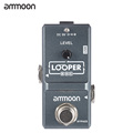 ammoon AP-09 Nano Loop Effect Pedal Looper Electric Guitar Effect Pedal True Bypass Unlimited Overdubs 10 Minutes Recording