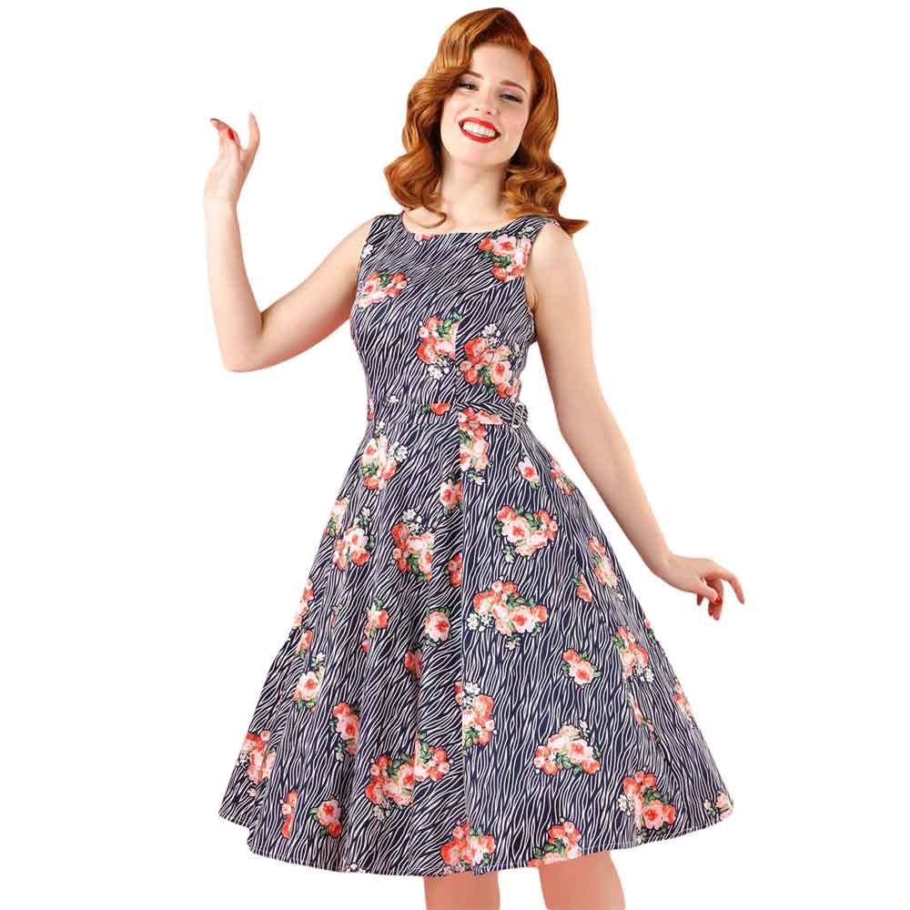 Lastest  Buy Sisjuly Vintage Dress Sleeveless Black Women Party Dress Retro