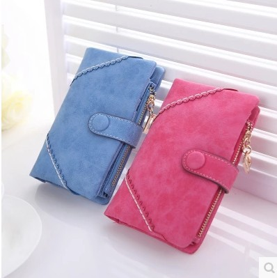 2015 High Quality Women Wallet Flower Vintage Coin Purse Female Card Purses Ladies Clutch Medium Phone Bag bourse porte monnaie(China (Mainland))