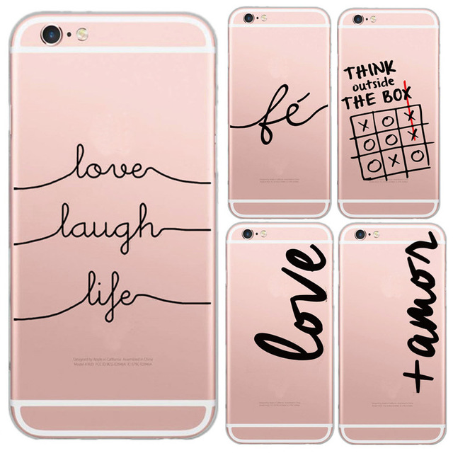 Case Iphone 6/6s Pink Words różne wzory