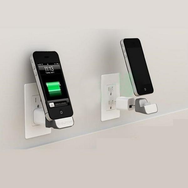 Mini iDock Wall Wireless Charger Docking Dock Station Adapter into USB Socket + EU Plug For iPhone 3G 3GS 4 4S Nano 5 6 Touch 4(China (Mainland))