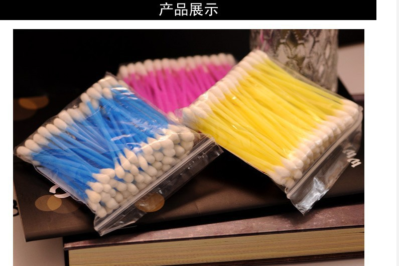 Colorful Cotton Swabs