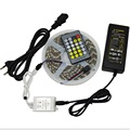 DC12V 60Led m Double Color Strip 5050 SMD LED Light Waterproof IR 24Key LED Color Temperature