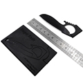 BLF finger knife credit card outdoor card survival knife camping wallet mini knife pocket stainless steel