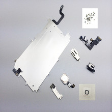 """Full Set Repair Parts For iphone 6 Full LCD Display Repair Parts Front Camera Ear Speaker Plate home button for iphone6  4.7""""(China (Mainland))"""