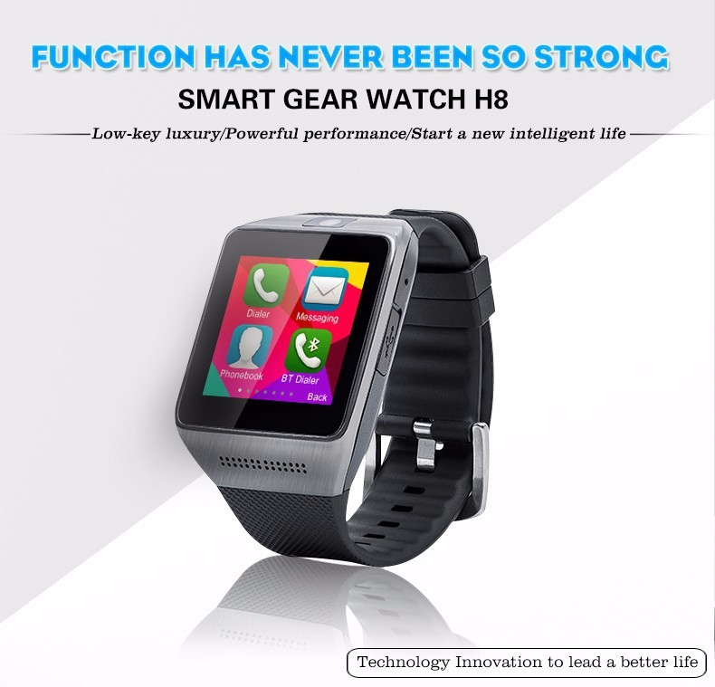 Newest  DZ09 Smart Watch Wearable Devices Bluetooth Handsfree For Apple/Samsung/Android/IOS Phone Smartwatch  Mobile Sync SIM