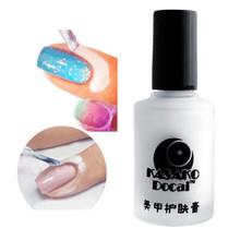 2016 New Mgic 15ml White Peel Off Liquid Nail Art Tape Latex Tape Palisade For Easy Clean Finger Skin Care Cream NA1130(China (Mainland))