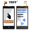 Front Digitizer Glass Display Frame Touch Screen For Nokia Lumia 525 526 Touch Panel Accessories With