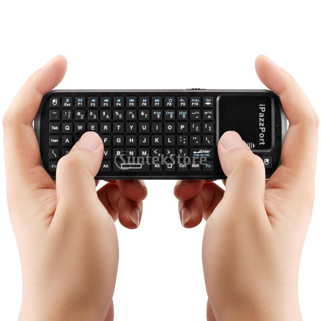 SPMART iPazzPort 2.4G RF Mini Wireless Keyboard Touchpad Smart TV PC Remote(China (Mainland))