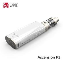 Mini pocket size 50W box mod kit vape cool electronic cigarettes 2.0 mL aiflow sub tank OCC coils 2100mAh battery starbuzz e cig
