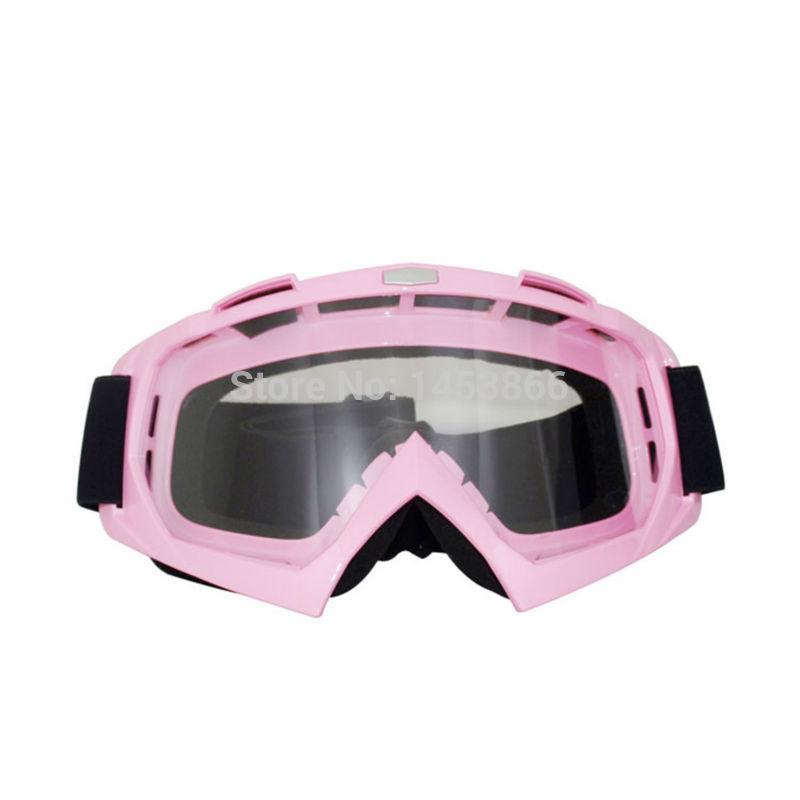 Pink Ski Goggle Motocross Helmet Goggles Motorcycle Moto Goggles(China (Mainland))
