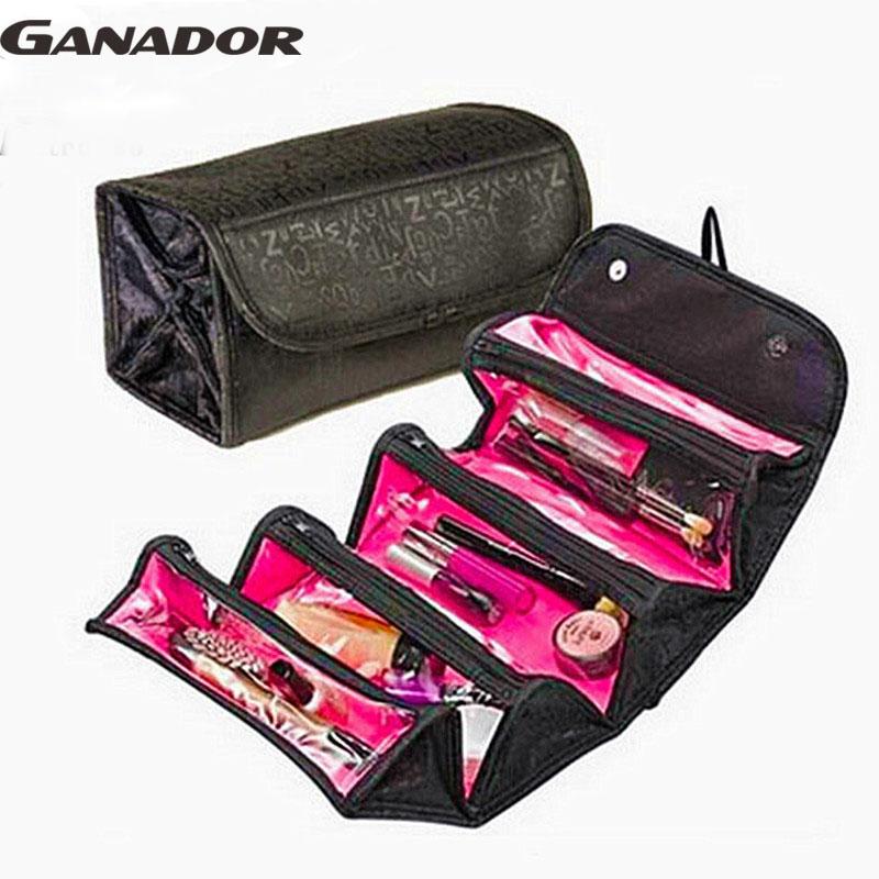 Ganador hot sale Multifunction women cosmetic bags Makeup Bag Lady Cosmetic cases Travel Bags Ladies Bolsas LM2170na(China (Mainland))