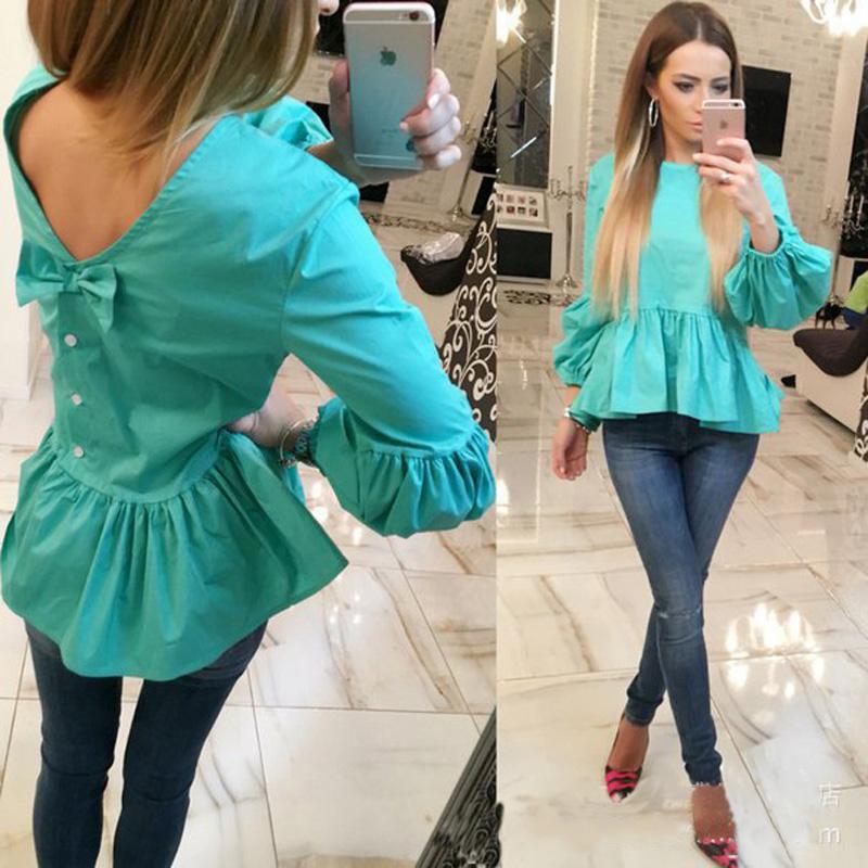 2016 spring new summer women  made pocket cheap women shirt free shipping Harajuku Ukraine