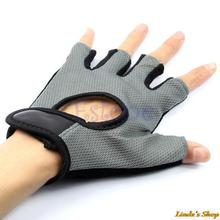 Training Body Building Exercise Gym Weight Lifting Sport Mesh Half Finger Gloves Free Shipping