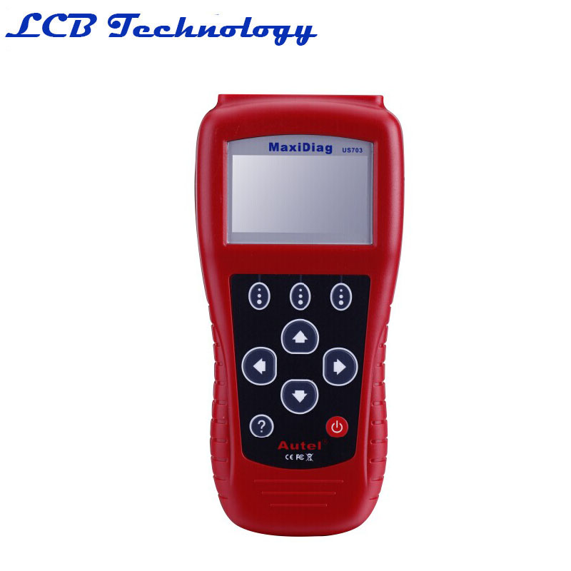 """MaxiDiag US703 2.7"""" LCD Code Scanner Reader Diagnostic Tool For G M / Ford / Chrysler - Red(China (Mainland))"""
