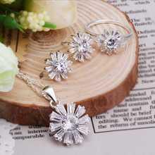 Free Shipping Hot 2015 silver plated jewelry sets   wedding decoration(China (Mainland))