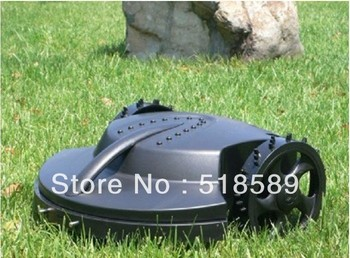 The Cheapest Robot Garden Lawn Mower+Remote Controller+Lead-acid Battery+Auto Reacharged +Free Shipping