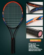 Kawasaki Tennis Racket Carbon Tennis Racquet With Bag Overgrip Tennis String Tenis Masculino Trainer Raqueta Tenis Padel Racket(China)