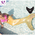 Kids Mermaid Tail Cosplay Costume Mermaid Tails for Swimming Cosplay Girls Christmas Set Swimming Mermaid Tail