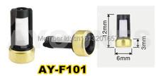 500 unids/set inyector de combustible del filtro ASNU03C 12 * 6 * 3 mm auto repuestos microfiltro encajen para bosch reparación del inyector ( AY-F101 )(China (Mainland))