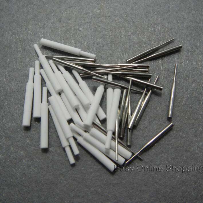 Dental Lab used 20pcs Metal Pins 20pcs Zirconia Ceramic Pins for Honeycomb Firing Trays(China (Mainland))